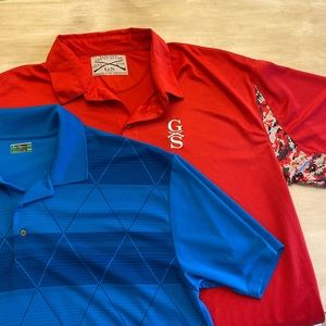 Grunt Style Veterans & Ben Hogan Polo Lot